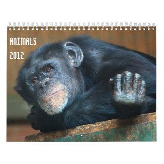 動物2012のカレンダー カレンダー
