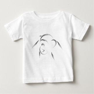 動物-チンパンジー ベビーTシャツ