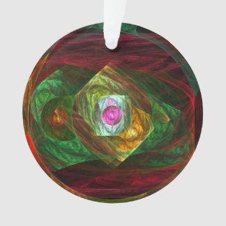 動的つながりの抽象美術のアクリルの円 オーナメント