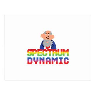 動的スペクトル ポストカード