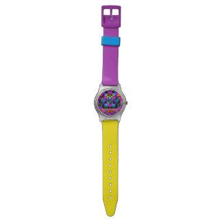 動的構成[時間] 腕時計