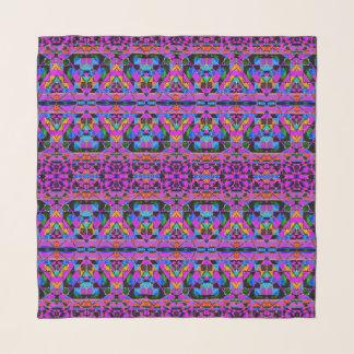 動的正方形 スカーフ