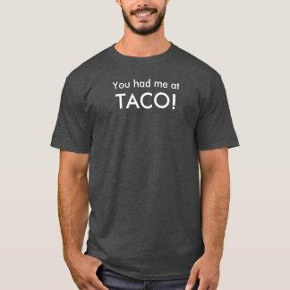 勝利のためのタコス Tシャツ