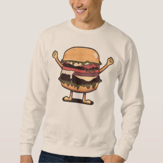 勝利のハンバーガー スウェットシャツ