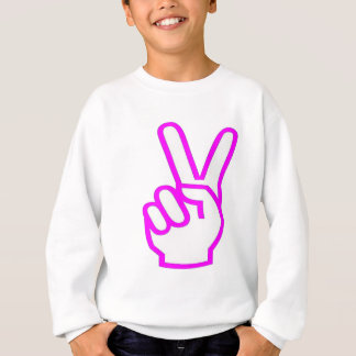 勝利の勝者の成功の記号のやる気を起こさせるな芸術のおもしろい スウェットシャツ