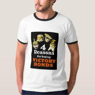 勝利の結束を買うための4つの理由 Tシャツ