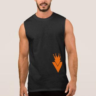 勝利の運動競技Llc -人の筋肉ワイシャツ 袖なしシャツ