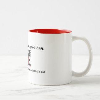 勝利のeveyの朝を祝って下さい! ツートーンマグカップ