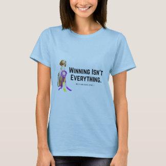 勝利はすべて…ではないです Tシャツ