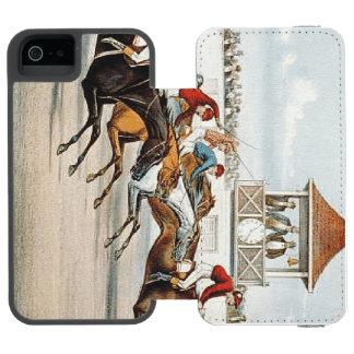 勝利への上の競争 INCIPIO WATSON™ iPhone 5 ウォレット ケース