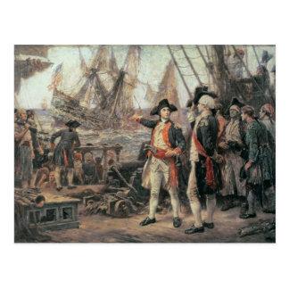 勝利を沈めた船、1779年 ポストカード
