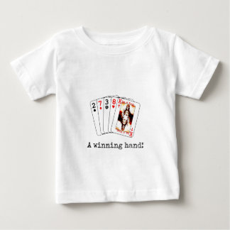 勝利手 ベビーTシャツ