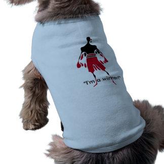 勝利犬のTシャツの勝者の精神 ペット服