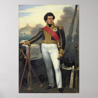 勝利者の人、Duperre 1832年男爵 ポスター