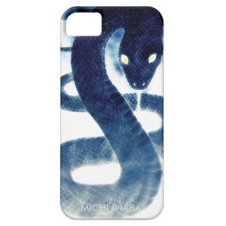 勝利蛇SYOURIJYA.Blueのヘビ iPhone 5 Case-Mate ケース