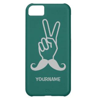 勝利髭のカスタムのケース iPhone5Cケース