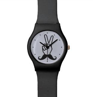 勝利髭のカスタムの腕時計 腕時計