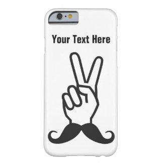 勝利髭の習慣のケース BARELY THERE iPhone 6 ケース