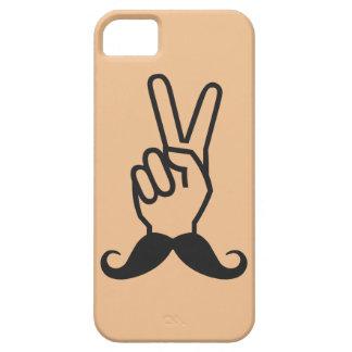 勝利髭カスタムな色のiPhoneの場合 iPhone SE/5/5s ケース