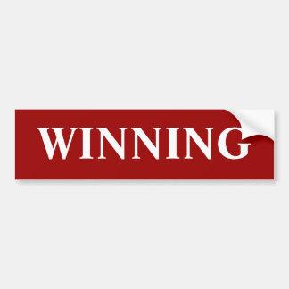 勝利-バンパーステッカー バンパーステッカー