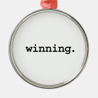 勝利 メタルオーナメント