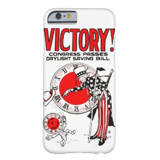 勝利! 夏時間調整の時間米国の政府の広告 BARELY THERE iPhone 6 ケース
