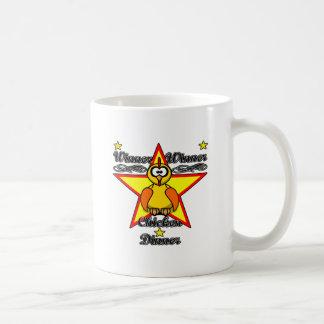 勝者の勝者の鶏の夕食 コーヒーマグカップ