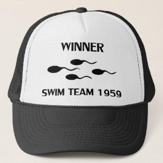 勝者の水泳チーム1959年のアイコン キャップ
