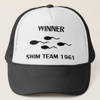 勝者の水泳チーム1961年のアイコン キャップ