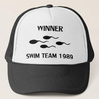 勝者の水泳チーム1989年のアイコン キャップ