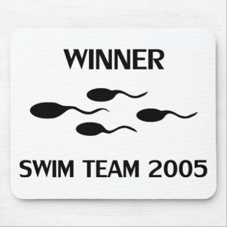 勝者の水泳チーム2005年のアイコン マウスパッド