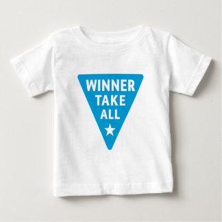 勝者はすべてを取ります ベビーTシャツ