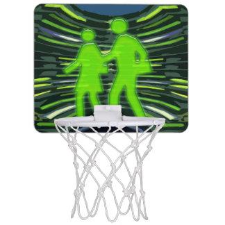 勝者はバスケットの勝者のチャンピオンのゲームNVN261を遊ばします ミニバスケットボールネット