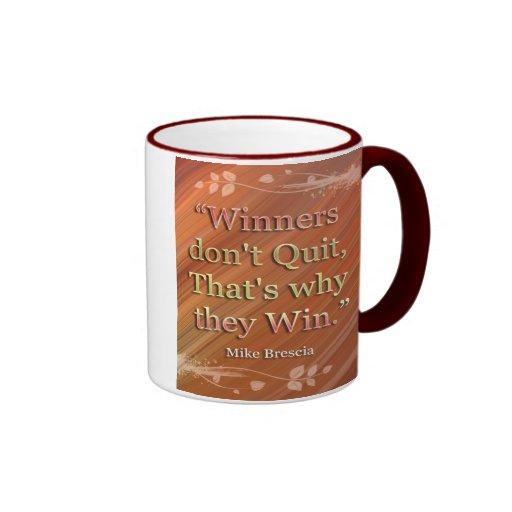 勝者やる気を起こさせる|メッセージ|マグ マグカップ