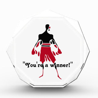勝者-勝利の精神 表彰盾