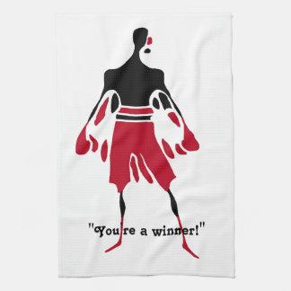 勝者-勝利タオル キッチンタオル