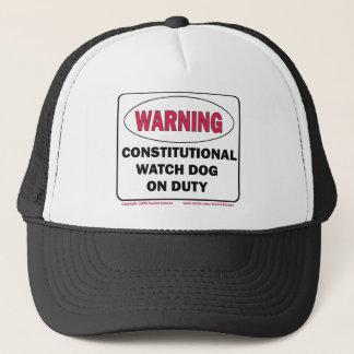 勤務中の体質性の番犬 キャップ