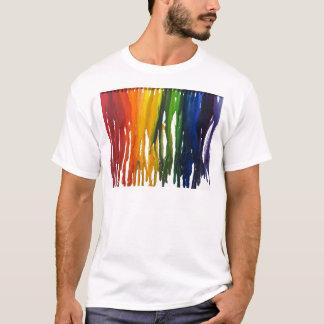 勧誘の溶かされたクレヨン Tシャツ