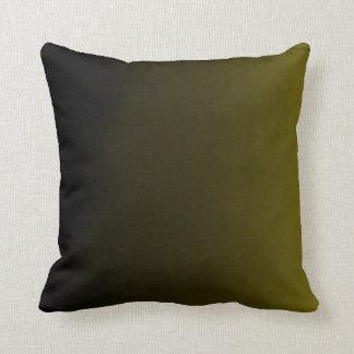 勾配のオリーブ色の枕 クッション
