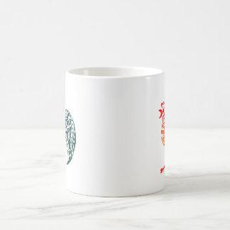 勾配のオンドリ コーヒーマグカップ