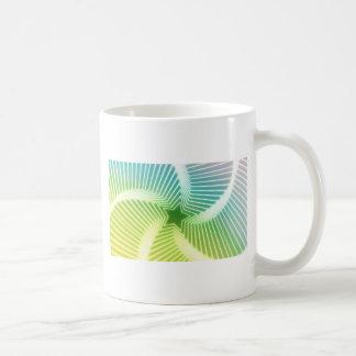 勾配の星パターン コーヒーマグカップ