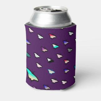 勾配の蝶紫色ビール袖/クーラー 缶クーラー