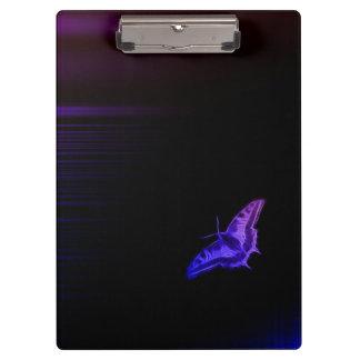 勾配の蝶 クリップボード
