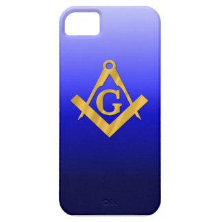 勾配の青とフリーメーソンの石大工 iPhone SE/5/5s ケース