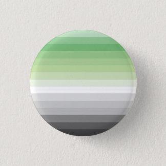 勾配のAroのプライドの旗ボタン 3.2cm 丸型バッジ