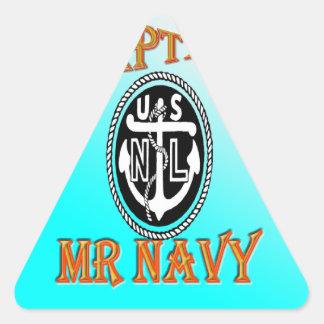 勾配のNAVY大尉氏 三角形シール