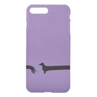 包まれたなダックスフントiPhone7の例 iPhone 8 Plus/7 Plus ケース