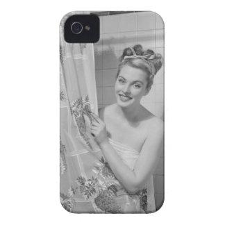包まれたな女性 Case-Mate iPhone 4 ケース