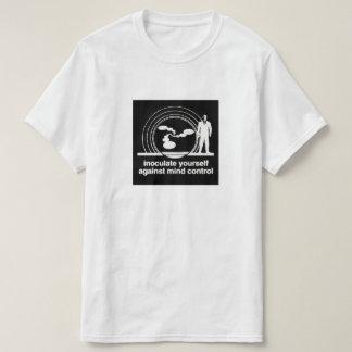 包囲された抽象的概念のマインドコントロールのワイシャツ Tシャツ