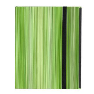 """包囲された3緑、元のモダンなデザイン""""ライム"""" iPad ケース"""